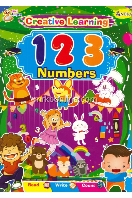Siri ANGSA - Creative Learning  123 NUMBERS
