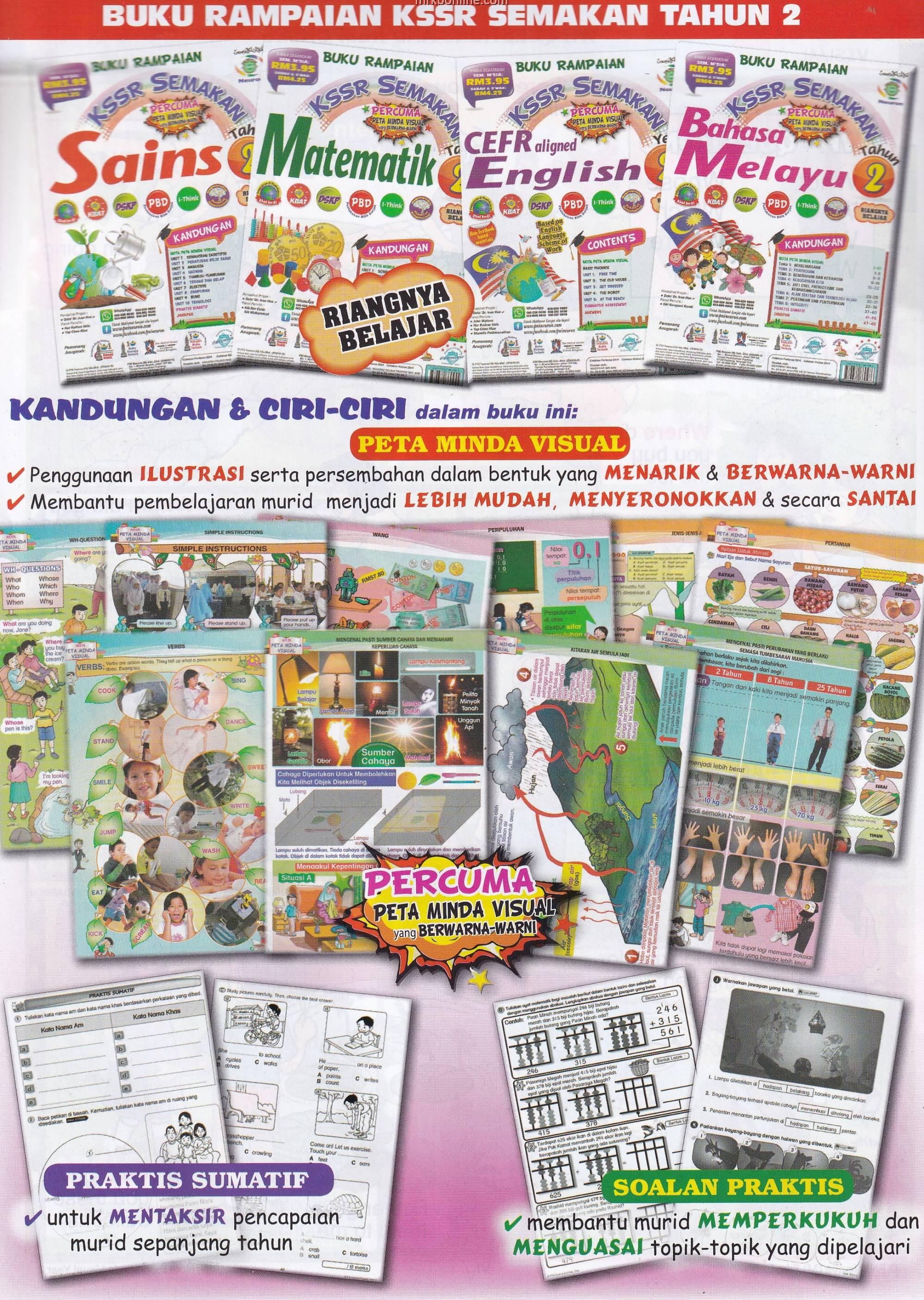 Buku Rampaian KSSR CEFR Aligned English Year 2
