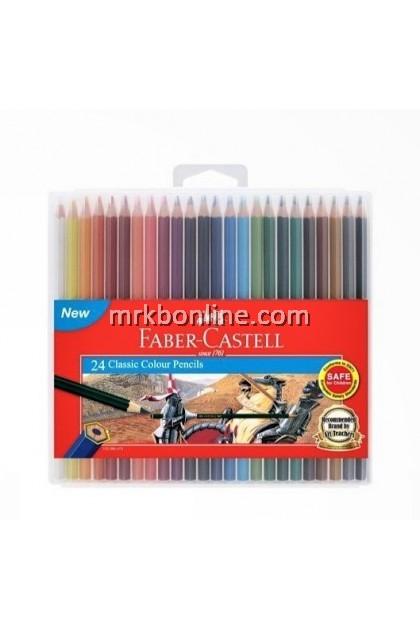 Faber-Castell 24 Classic Colour Pencils