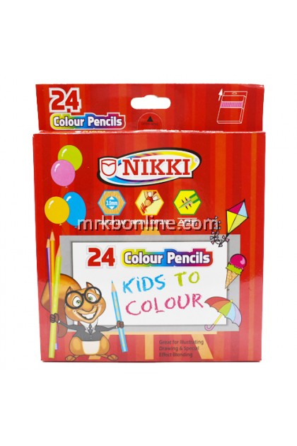 Nikki 24 Colour Pencil 288 (Long)