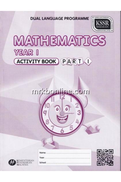 Activity Book Mathematics Part 1 Year 1