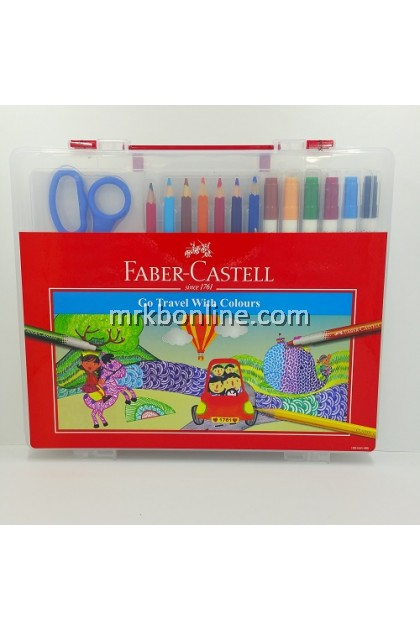 Faber-Castell Go Travel With Colours (570802)