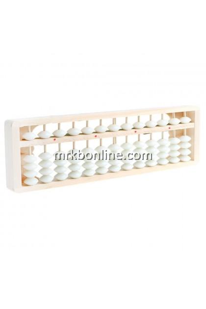 Wooden Frame Abacus 13 Column -(27 CM X 8CM)