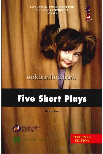Buku Teks Komsas Five Short Plays Form 4
