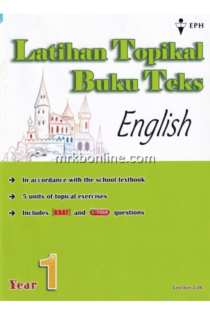 Latihan Topikal Buku Teks English KSSR Year 1