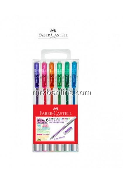 Faber Castell 6 True Gel Colour (242632)