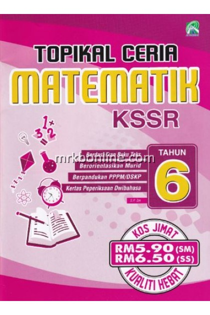 Topikal Ceria Matematik KSSR Tahun 6