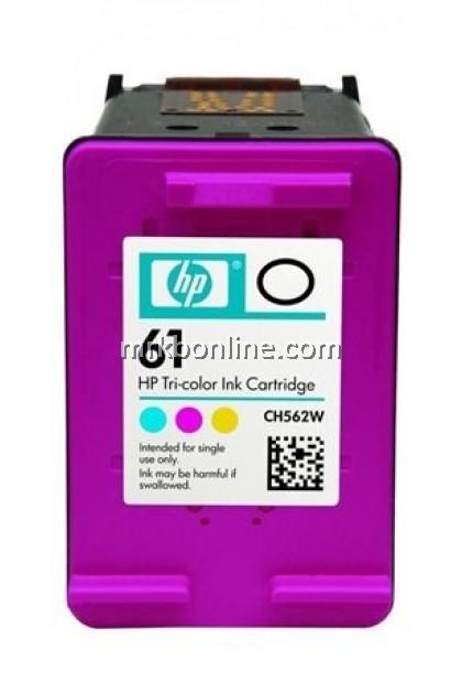 HP 61 Tri-Color Original Ink Cartridge CH562WA