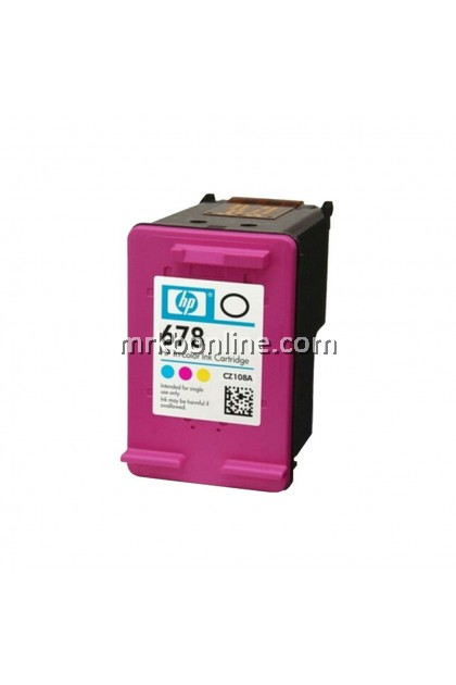 HP 678 Tri-Color Original Ink Advantage Cartridge CZ108AA