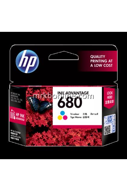HP 680 Tri-Color Original Ink Advantage Cartridge F6V26AA