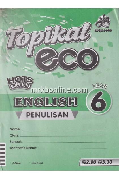 Topikal Eco English (Penulisan) Year 6