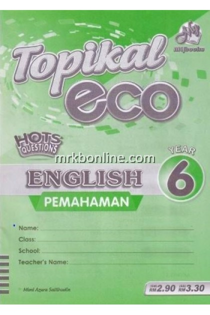 Topikal Eco English (Pemahaman) Year 6