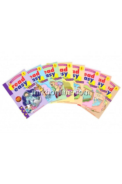 Early Reading Series Read Easy Phonics Beginner Level (8 Books) NEW VERSION