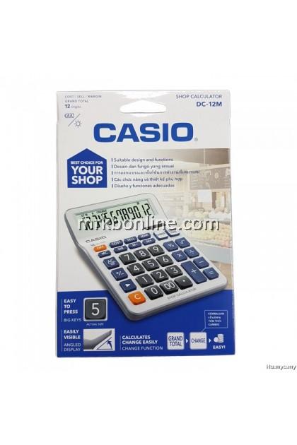 Casio DC-12M Shop Calculator