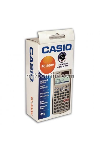 Casio FC-200V Financial Consultant Calculator