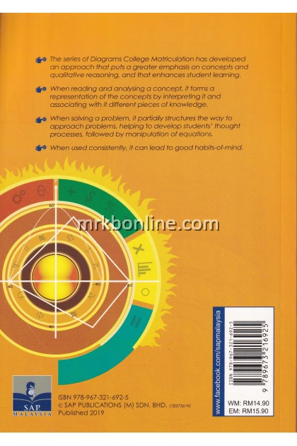 The Series Diagrams Mathematics For Matriculation (Science) Semester 1