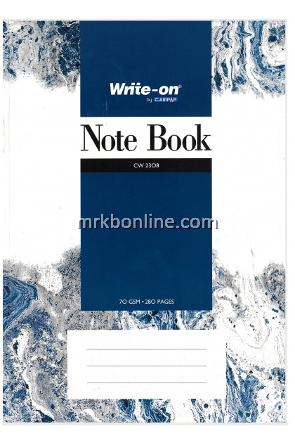CAMPAP Note Book A4 CW2308  280pages