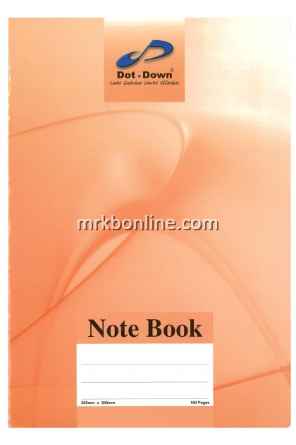 Dot Down Note Book A4 160 pages