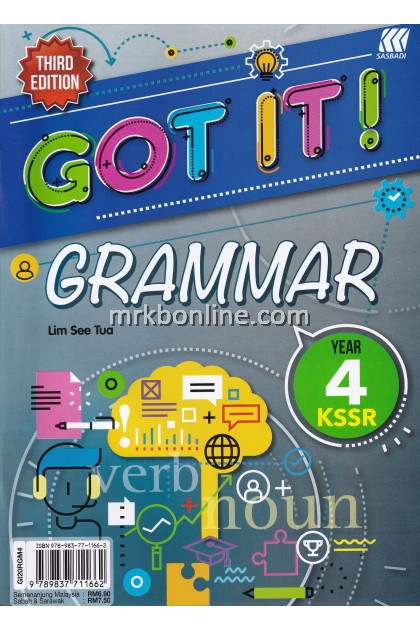 GOT IT! Grammar Year 4 KSSR (3rd Edition)