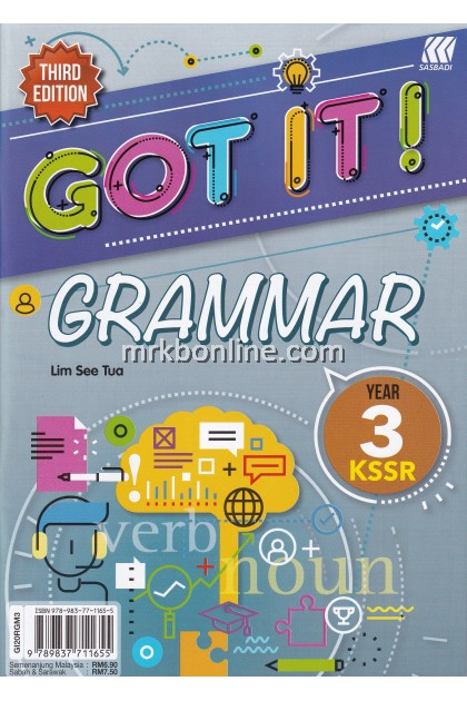 GOT IT! Grammar Year 3 KSSR (3rd Edition)