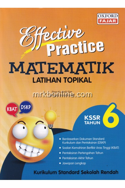 Effective Practice Latihan Topikal Matematik KSSR Tahun 6