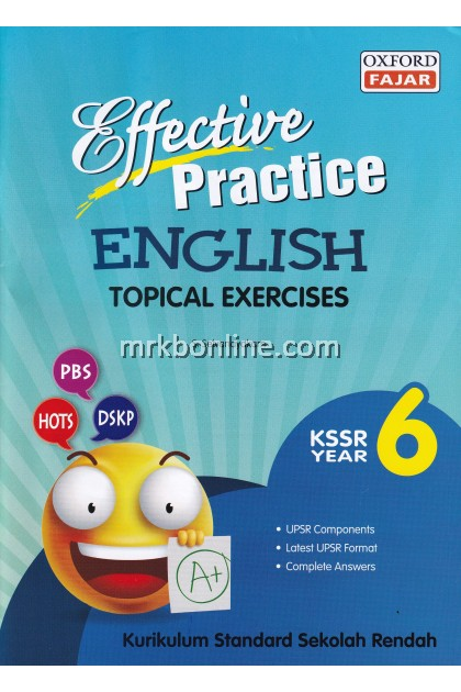 Effective Practice Topical Exercises English KSSR Year 6