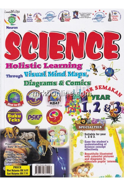 Holistic Learning Through Visual Mind Maps, Diagrams & Comics Science Year 1, 2 & 3
