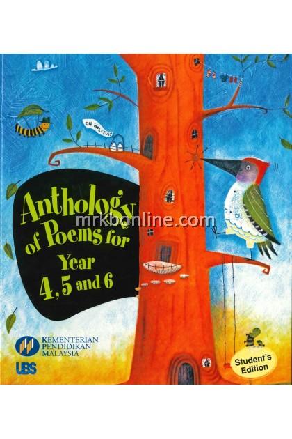 Buku Teks Anthology of Poems for Year  4,5 and 6
