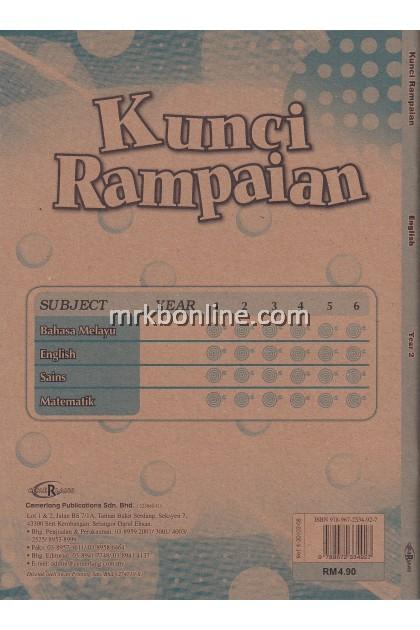 Kunci Rampaian English Year 2