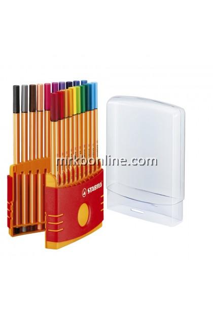 Stabilo Point 88 Colour Pen  ( 20 Colours )