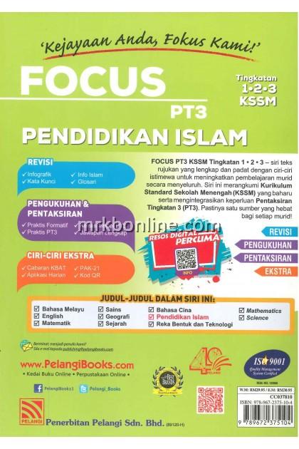 [2020] Focus SPM Pendidikan Islam Tingkatan 4 KSSM