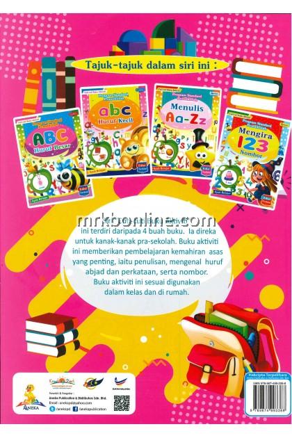 Cuti-Cuti Buku Aktiviti - Mengira 123 Nombor