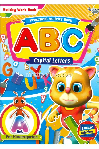 Holiday Work Book - ABC Capital Letters