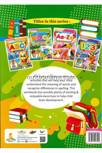 Holiday Work Book - abc Small Letters