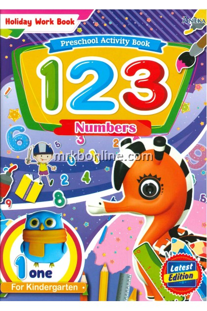 Holiday Work Book - 123 Numbers