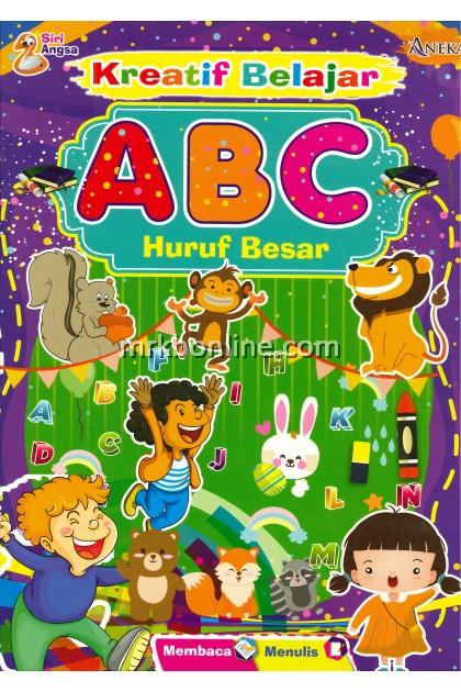 Siri ANGSA - Kreatif Belajar ABC HURUF BESAR