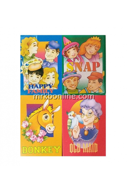 JHEE Happy Family Game Card 4's