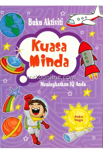 Buku Aktiviti Kuasai Minda - Buku Ungu / Children Books
