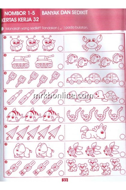 [OFFER] Buku Aktiviti Kuasai Minda - Buku Merah Jambu / Children Books