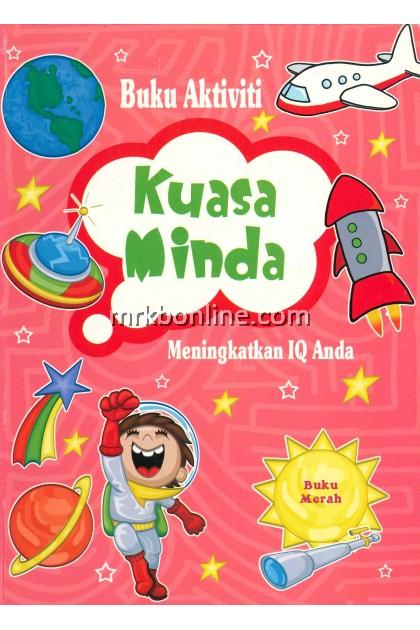 Buku Aktiviti Kuasai Minda - Buku Merah / Children Books