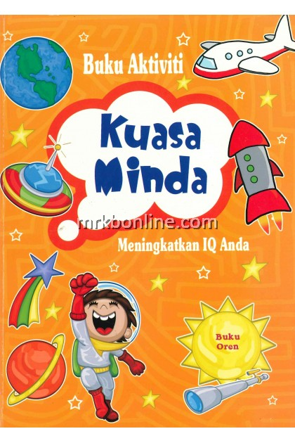 [OFFER] Buku Aktiviti Kuasai Minda - Buku Oren / Children Books