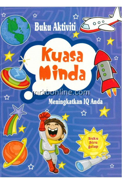 [OFFER] Buku Aktiviti Kuasai Minda - Buku Biru Gelap / Children Books