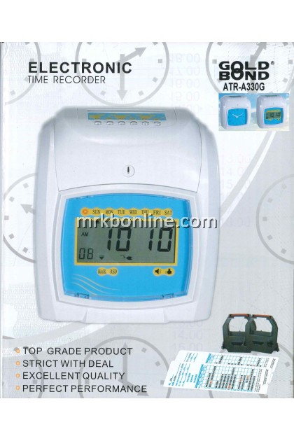 Gold Bond Electronic Time Recorder