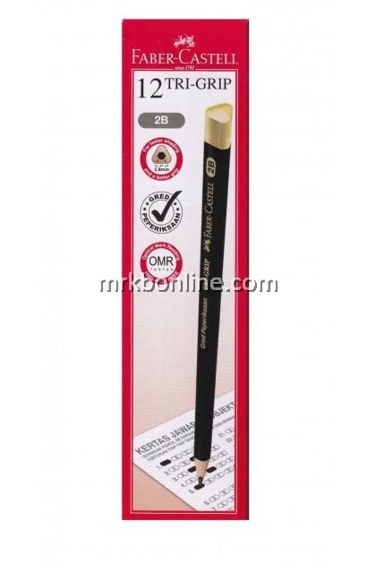 Faber Castell 2B Tri-Grip Pencils 12'S
