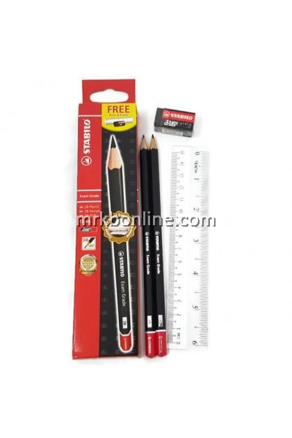 Stabilo Exam Grade 2B Pencils 12'S
