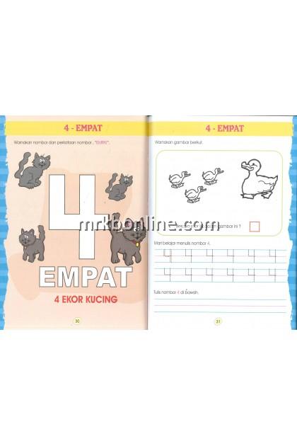 [ANEKA] Buku Aktiviti Prasekolah : Matematik Mengira 1 hingga 10