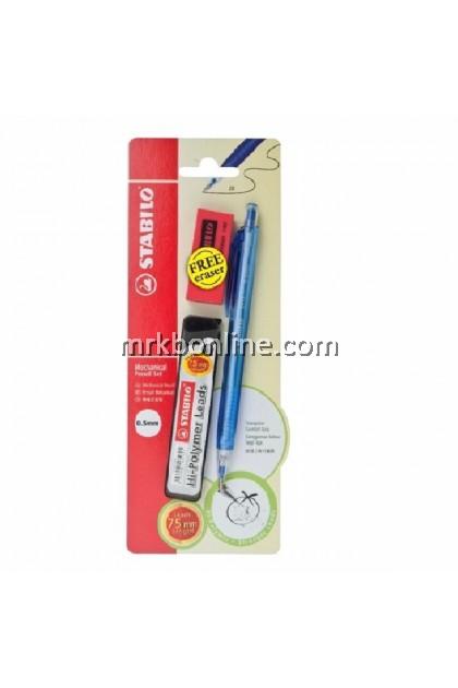 Stabilo Mechanical Pencil Set 0.5mm