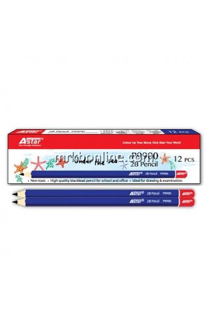 Astar  P9900 2B Pencils 12'S