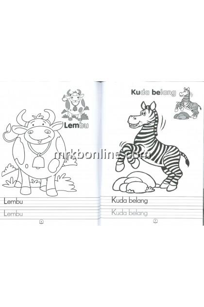 Siri Merpati - Buku Latihan Haiwan Ternakan & Kenderaan