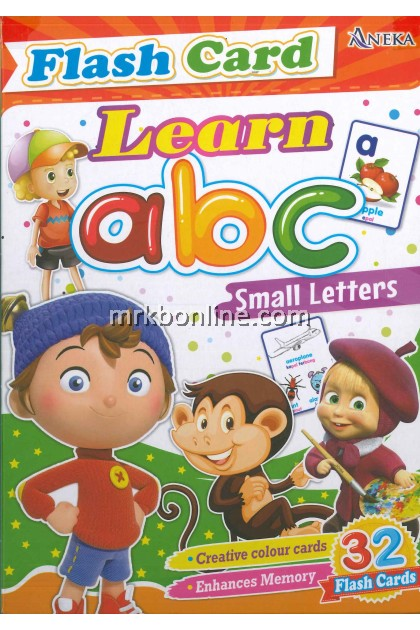 Flash Card Learn abc Small Letters (32 Flash Cards)